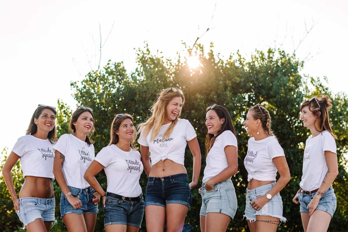 EVJF avec Tee Shirt Bride Squad à Montpellier