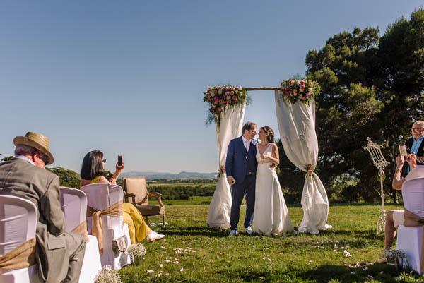 Mariage au Château de Paraza dans l'Aude