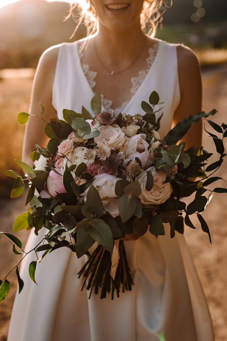 Bouquet de mariée dans l'Hérault