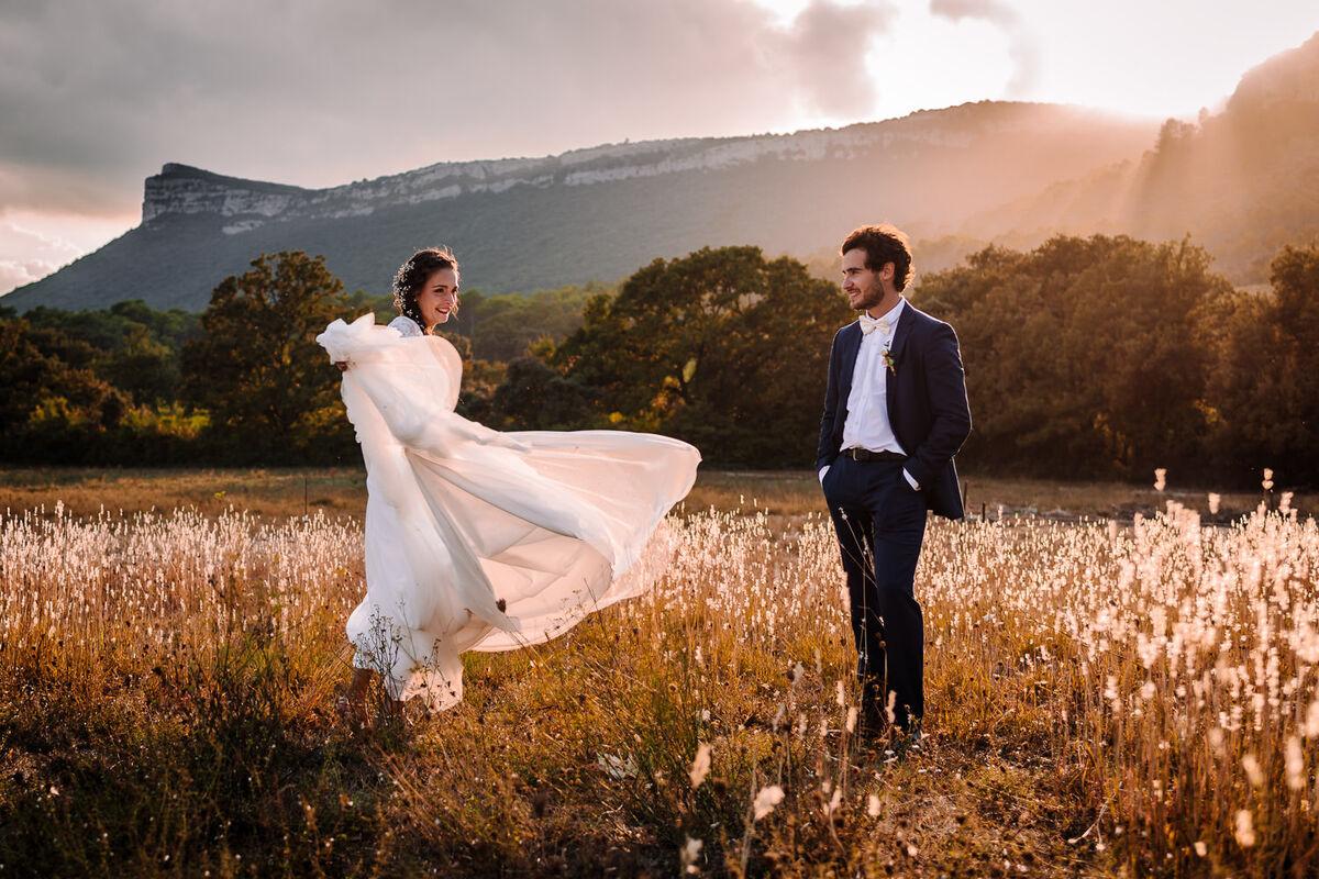 Photographe de mariage en Lozère
